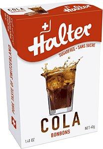 Bala sem Açúcar Halter sabor Cola (Display com 16 un)