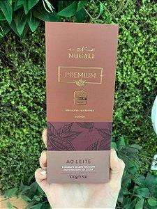Barra de Chocolate Nugali ao leite 45% 100g