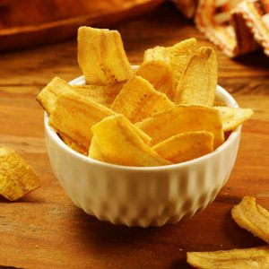Banana Chips Salgada 80g