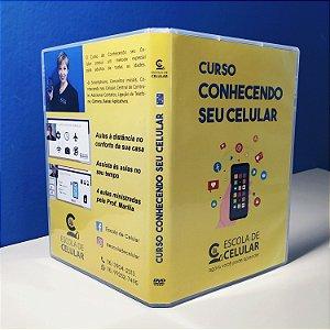 DVD Curso Conhecendo seu Celular