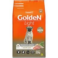 GOLDEN FORM CÃES FRANGO MINI BITS ADULTO LIGHT 3KG