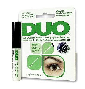 Cola Duo Eyelash Adhesive com pincel aplicador