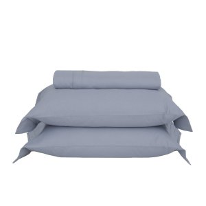 Duvet King Luxus Dallas Azul Nórdico 3 pc 600 fios