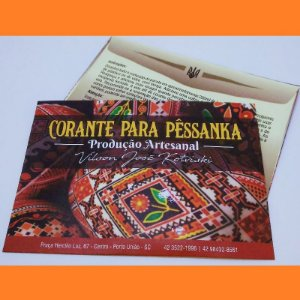 Tinta para pêssanka - corante LARANJA
