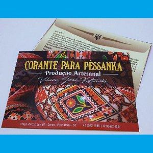 Tinta para pêssanka - corante AZUL