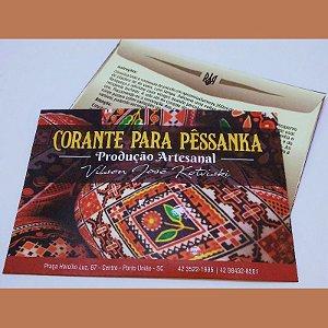 Tinta para pêssanka - corante MARROM