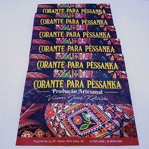 Kit de tintas corantes BÁSICO - 6 cores