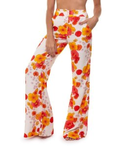 Calça Pantalona Breezy Floral