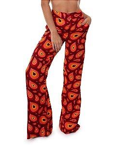 Calça Pantalona Seventies