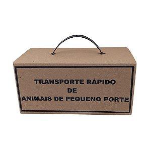 Caixa de Transporte Rápido de Animais de Pequeno Porte - Pct. c/ 50 Unid.