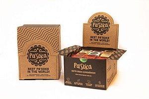 Caixa Best Mix Paçoca 24 unidades - 600 g - Pasoka