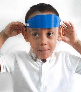 Protetor Facial Premium - Ultra Transparente, Mais Resistente - INFANTIL 2 (5 a 10 anos)