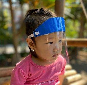 Protetor Facial Premium - Ultra Transparente, Mais Resistente - INFANTIL 1 (0 - 4 anos)
