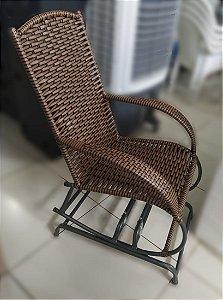 Cadeira de Balanço Naja Trans.com 04 Molas Fibra-Clasul