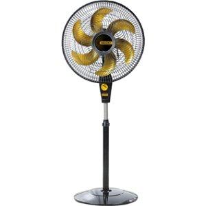 Ventilador Coluna 40cm Delfos TS+Preto/Dourado-Mallory