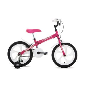 Bicicleta Bloom Monoturbo Aro 16 Rosa Pink Rosa-Houston