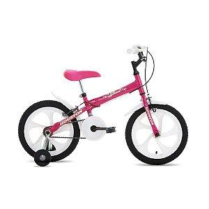 Bicicleta Bloom Monoturbo Aro 16 Rosa Pink Rosa-Houston