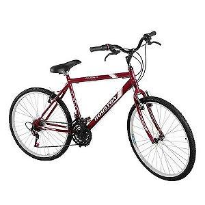Bicicleta Foxer Hammer Petra Aro 26 Vermelha-Houston
