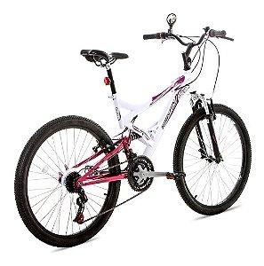 Bicicleta Aro 26 Vivid Br/Rosa-Houston