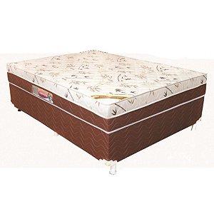 Unibox Casal Mola Esmeralda Froral 138X188X58cm Ley Colchoes