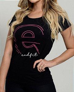 Camiseta Feminina End Fit - Pink Dot