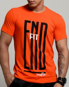 Camiseta Masculina End Fit - Hard Orange