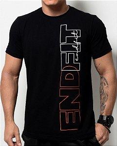 Camiseta Masculina End Fit - Premium Black