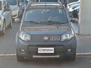 FIAT   UNO  1.0 EVO WAY 8V FLEX 4P MANUAL 2011  /  2012  Cinza