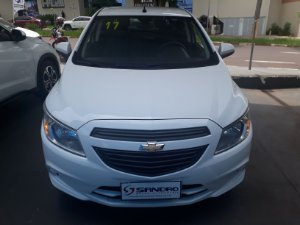 CHEVROLET   ONIX  1.0 MPFI JOY 8V FLEX 4P MANUAL 2017  /  2017  Branco