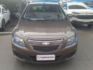 CHEVROLET   PRISMA  1.4 MPFI LT 8V FLEX 4P MANUAL 2013  /  2013  Marrom