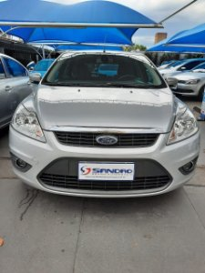 FORD   FOCUS  2.0 GLX 16V FLEX 4P MANUAL 2013  /  2013  Prata