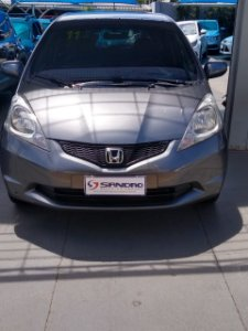 HONDA   FIT  1.5 EX 16V FLEX 4P MANUAL 2010  /  2011  Cinza