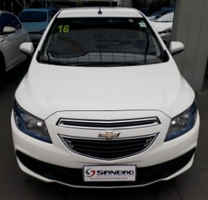 CHEVROLET   PRISMA  1.4 MPFI LT 8V FLEX 4P MANUAL 2015  /  2016  Branco