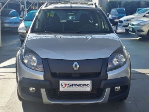 RENAULT   SANDERO  1.6 STEPWAY 8V FLEX 4P MANUAL 2013  /  2014  Prata