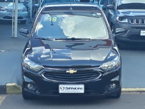 CHEVROLET   PRISMA  1.4 MPFI LT 8V FLEX 4P MANUAL 2019  /  2019  Preto