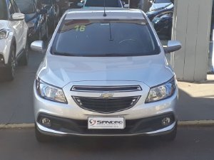 CHEVROLET   ONIX  1.4 MPFI LT 8V FLEX 4P MANUAL 2016  /  2016  Prata