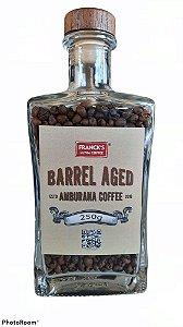 Garrafa com Café Topázio maturado em barril de Amburana (250g)
