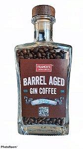 Garrafa com Café maturado em barril de gin (250g)