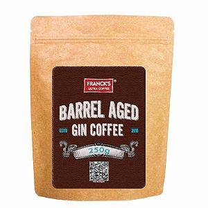 Café maturado em barril de gin