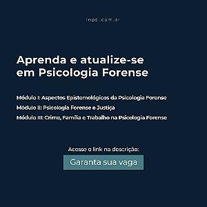 Curso de Fundamentos da Psicologia Forense