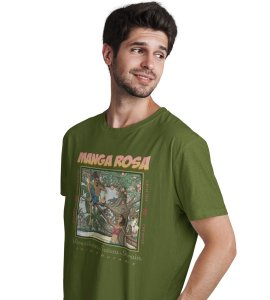 Camiseta Manga Rosa Hempstee Cânhamo