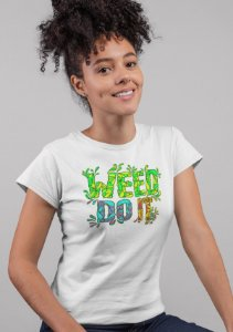 Weed Do It Feminina Hempstee Branco