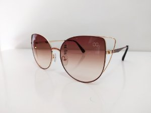 GOGLASS 28411 C02 60 18 ÓCULOS DE SOL GOGLASS METAL COPM LENTES MARRON DEGRADE