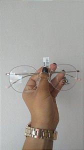 Armação Goglass + Lentes resina antirreflexo