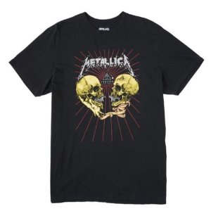 CAMISETA AI  METALLICA BLACK
