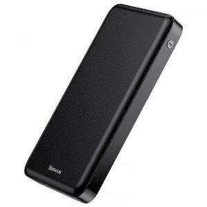 Bateria Portatil Baseus Fast Charge 3A 20000MAH Preta PPJAN-B01