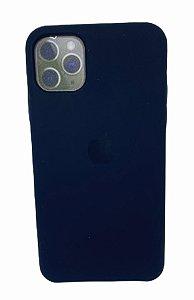 Case Silicone IP 11 Pro Max Preto