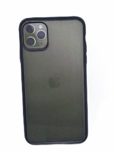Case Ikase Thin Clear IP 11 Pro Max Black