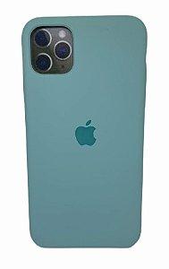 Case Silicone IP 11 Pro Max Verde Agua