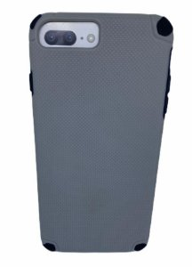 Case Hardbox IP 6 / 7 / 8 Plus Max Protect Grey